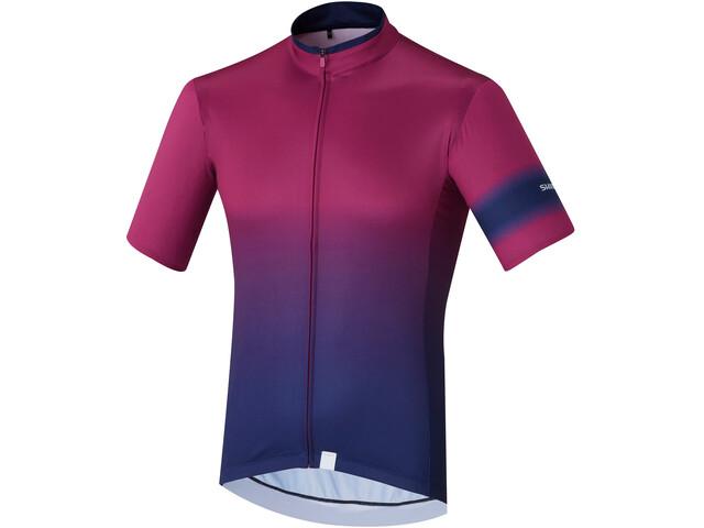 Shimano Mirror Cool Jersey Herren purple